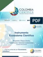 2 Ecosistema Cientifico Colombiacientifica AO20161025