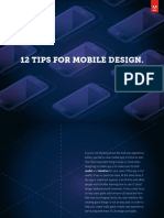 12 Tips Mobile Design