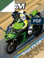 Kawasaki Ninja Zx6 r Ed 116