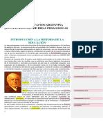Historia de La Educacion Argentina Jesuitas Resumen de Ideas Pedagogicas