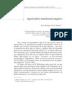 Agresividad y Transferencia Negativa 1 Lacan