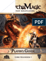 Myth & Magic Players Guide