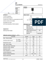 R6020ANX_12 Datasheet (PDF) - Rohm