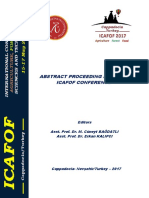 Abstract Proceeding Book ICAFOF-2017