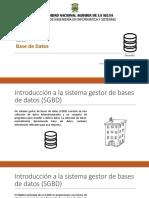 Clase 01 Base de Datos