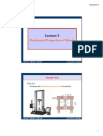 Lecture 3 Mechanical Properties of Metals