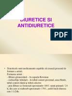 Curs - Diuretice Si Antidiuretice