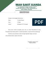 Surat Pernyataan HD