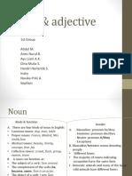 Noun & Adjective