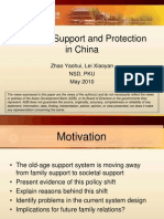 Old-Age Support and Protection in China