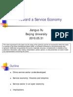 Toward a Service Economy