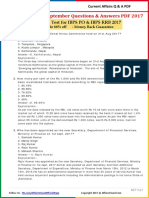 Current Affairs September Question & Answer 2017 PDF by AffairsCloud.pdf