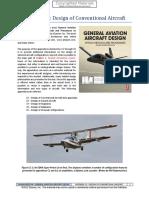 A.2. Design of Conventional Aircraft