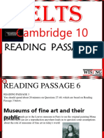 Cambridge 10 Reading 6