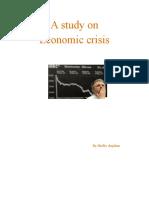 A Study On Economic Crisis