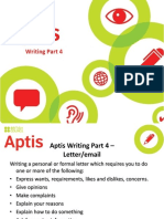 11 Aptis Writing Overview