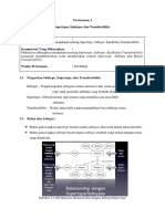 Modul 3 - Supertypes, Subtypes, Dan Transferability
