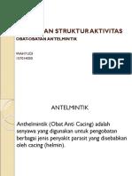 hubungan struktur dan aktivitas kimia