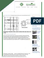Perhitungan Kebutuhan Bahan Untuk Membuat Dak Lantai Ukuran 6m x 13m - Ilmusipil