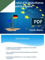 Germania Și Rolul Ei În EU