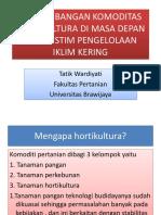 Kupang Horti Tanah Keringt