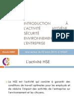 présentation INSAT HSE