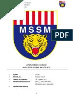 Laporan Kejohanan Skuasy MSSM 2017