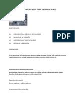 Accesorios y Componentes Para Instalaciones Eléctricas