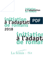 Brochure Initiation a l Adaptation de Romans 2018