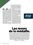 Le Monde Magazine Les revers de la médaille