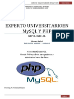 PHP UNIDM2