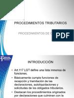 3.Procedimientos Tributarios de Gestión