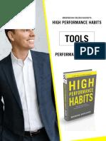 HighPerformanceHabits Tools Prompts