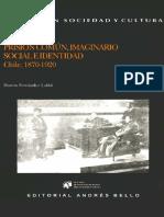 Prisión Comun, Imaginario Social e Identidad