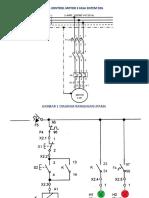 Panel Kontrol Motor 3 Fasa Sistem Dol