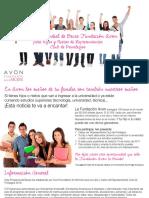 PERÚ Becas Fundación Avon