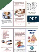 Leaflet Teknik Batuk Efektif