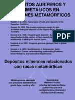 Depósitos Auríferos y Polimetálicos en Cinturones Metamórficos-1