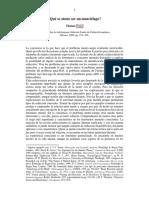 142536033 Que Se Siente Ser Un Murcielago Nagel PDF