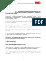 Carta de Pedro Sánchez