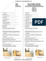 CBSE Class 4 General Knowledge Worksheets (8)-Our States