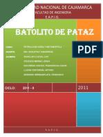 74854504 El Batolito de Pataz