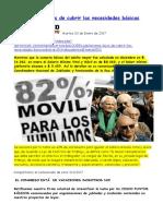 2017-01-03 Jubilaciones Lejos de Cubrir Las Necesidades Básicas
