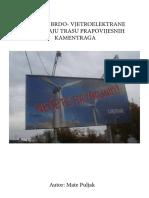 3.Kreševo Brdo- Vjetroelektrane Uništavaju Trasu Prapovijesnih Kamentraga