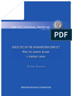 Dialectics of the Afghanistan Conflict (ORF Occasional Paper 8, March 2008)