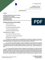 Resumo Aula 01 e 02 - Prof Gustavo Junqueira - Criminologia