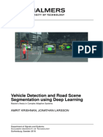 Vehicle Detection and Road Scene Segmentation using Deep Learning