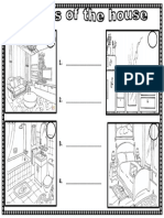 Parts of the House Worksheet g