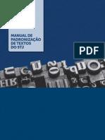 STJ - Manual de Padronização de Textos - 2016