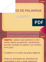Classes Pal Adjetivo